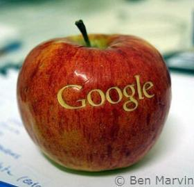 Mobile search on Apple by Google