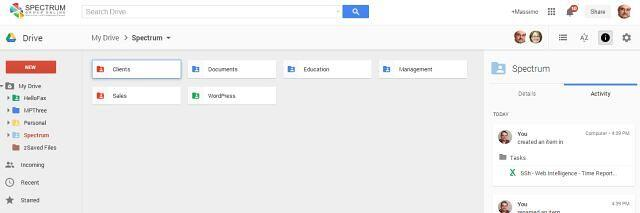 New Google Drive Look