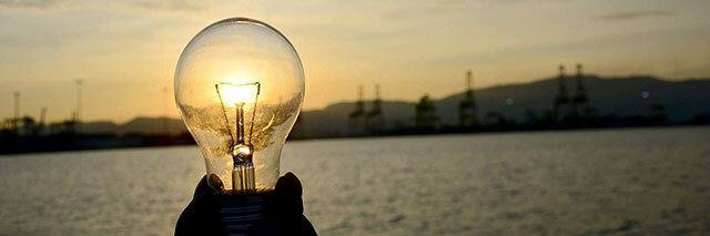 Sustainability-image-light-bulb-at-sunset