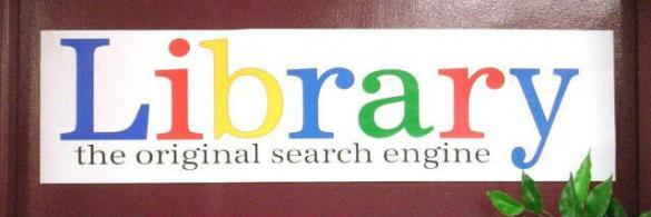 Library-the-original-search-engine