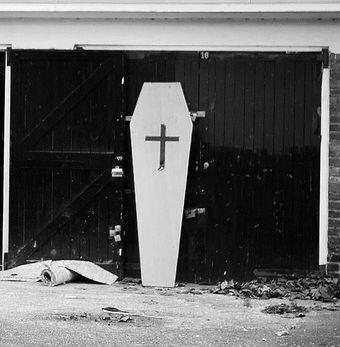 Guest Blogging Coffin