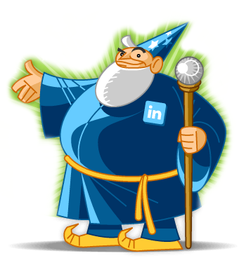 The LinkedIn Wizzard helps with LinkedIn Profile Optimization