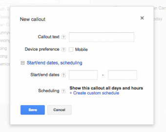 Why Your AdWords Account Needs Callouts