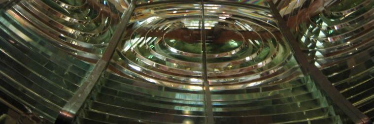 View of Fresnel Lens